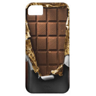 Realistic Unwrapped Chocolate Bar iPhone Case iPhone 5 Covers