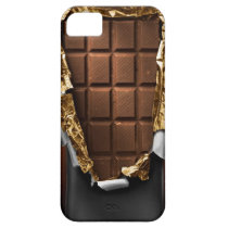 Realistic Unwrapped Chocolate Bar iPhone Case