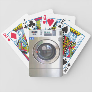 Realistic Washing machine Bicycle Playing Cards