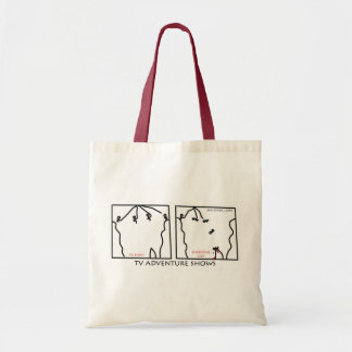Reality Adventure Shows Tote Bag