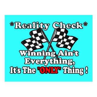 *Reality Check* Postcard
