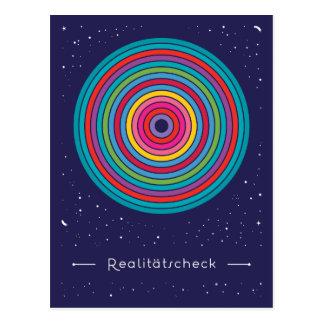 Reality check postcard