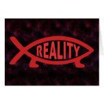 Reality Darwin Fish Cards