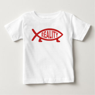 Reality Darwin Fish T-shirt