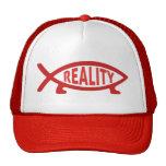 Reality Darwin Fish Trucker Hat