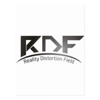 Reality Distortion Field Postcard