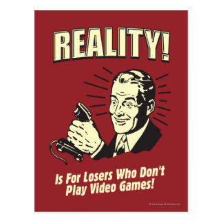 Reality: For Losers Postcard