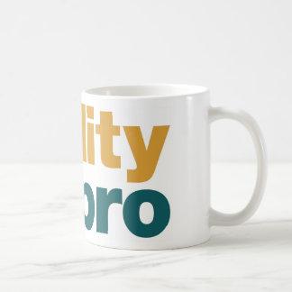 Reality Hits You Hard Bro T-Shirt Classic White Coffee Mug
