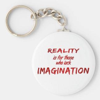 Reality/Imagination Keychain