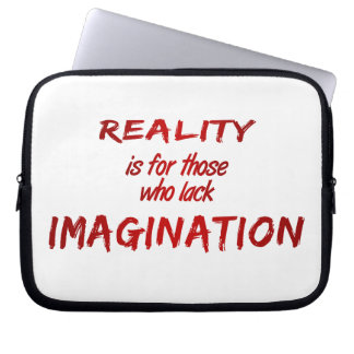 Reality/Imagination Laptop Sleeve