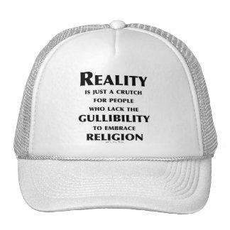 Reality is a Crutch Trucker Hat