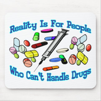 Reality Is For People Mouse Pad