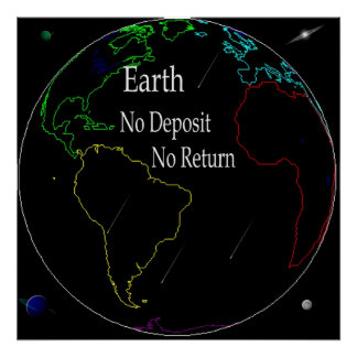 Reality Of Earth Print