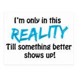 Reality Postcard