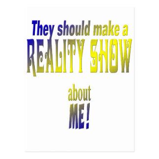 Reality show postales