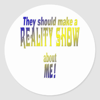 Reality Show Stickers