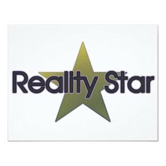 Reality Star Card