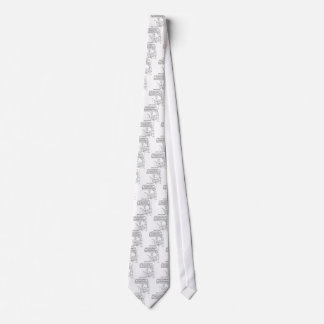 Reality TV Cartoon 1456 Tie