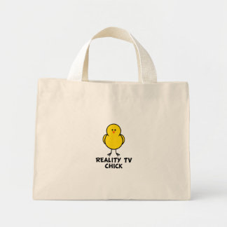 Reality TV Chick Canvas Bags