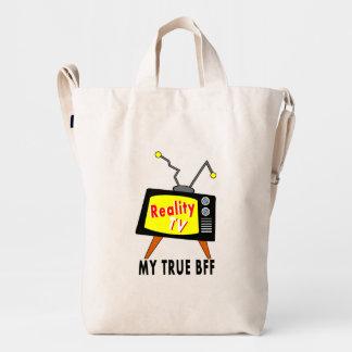Reality TV My BFF Old Fashioned TV Baggu Bag