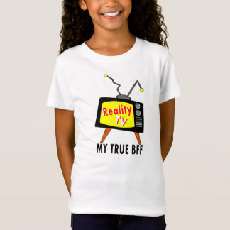 Reality TV My BFF Old-fashioned TV T-shirt girls