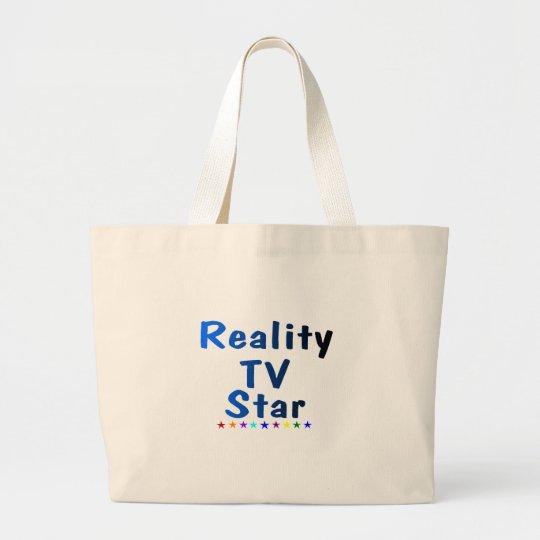 Reality TV Star Large Tote Bag