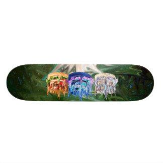 Reality vs. Burger Custom Skate Board