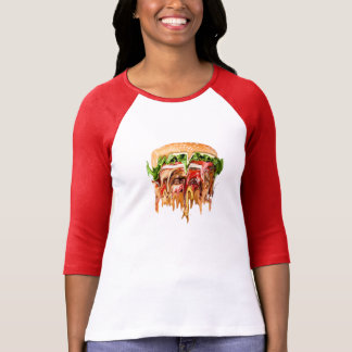 Reality vs. Burger T-shirts