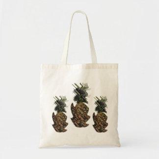Reality vs. Pineapple Budget Tote Bag