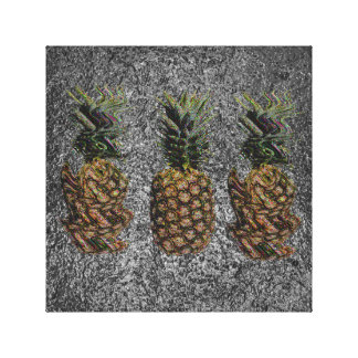 Reality vs. Pineapple Canvas Print