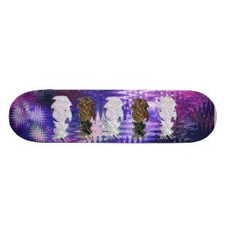 Reality vs Pineapple Skateboard