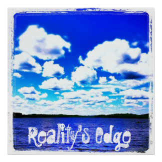 reality's edge poster skyblue