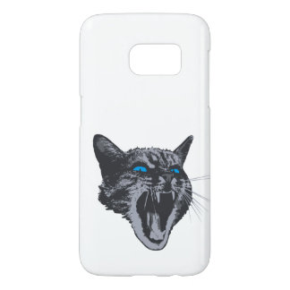 Really angry kitty cat mobile guardian samsung galaxy s7 case