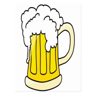 Really Big Mug o Beer Postcard