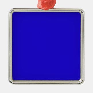 Really Blue Christmas Ornament