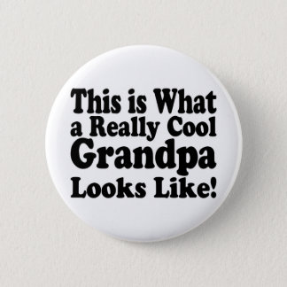 Really Cool Grandpa Button