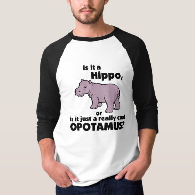 Really Cool Opotamus Tee Shirt