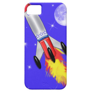 Really Cool Rocket in Space iPhone SE/5/5s Case