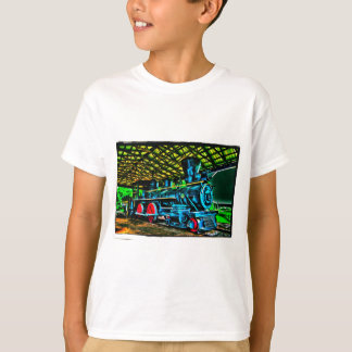 Really Cool Train Art T-Shirt