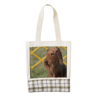 Really Cute Airedale Terrier Zazzle HEART Tote Bag