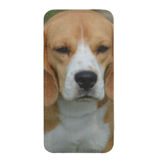 Really Cute Beagle Pup iPhone 5 Pouch