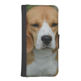 Really Cute Beagle Pup Phone Wallet Cases