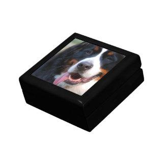 Really Cute Bernese Mountain Dog Keepsake Box