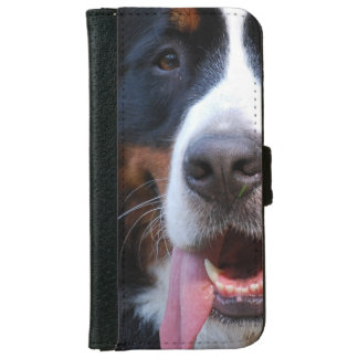 Really Cute Bernese Mountain Dog iPhone 6 Wallet Case