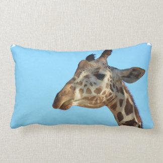 Really Cute Giraffe Lumbar Pillow