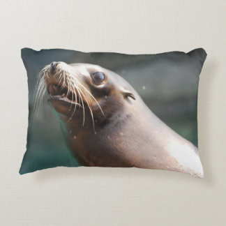 Really Cute Sea Lion Accent Pillow