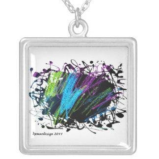 Really dpmartdesign 2011 square pendant necklace