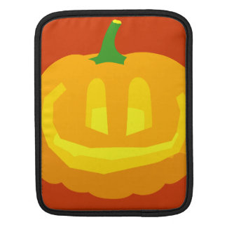 really happy Jack-O- Lantern Sleeves For iPads