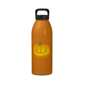 really happy Jack-O-'Lantern Drinking Bottles