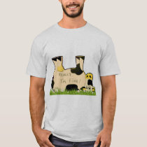 Really, I'm Fine Cow T-Shirt